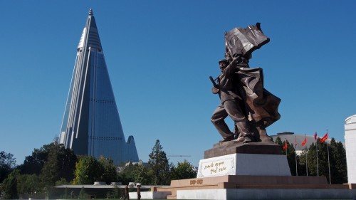 Victorious Fatherland Liberation War Museum and Ryugyong Hotel